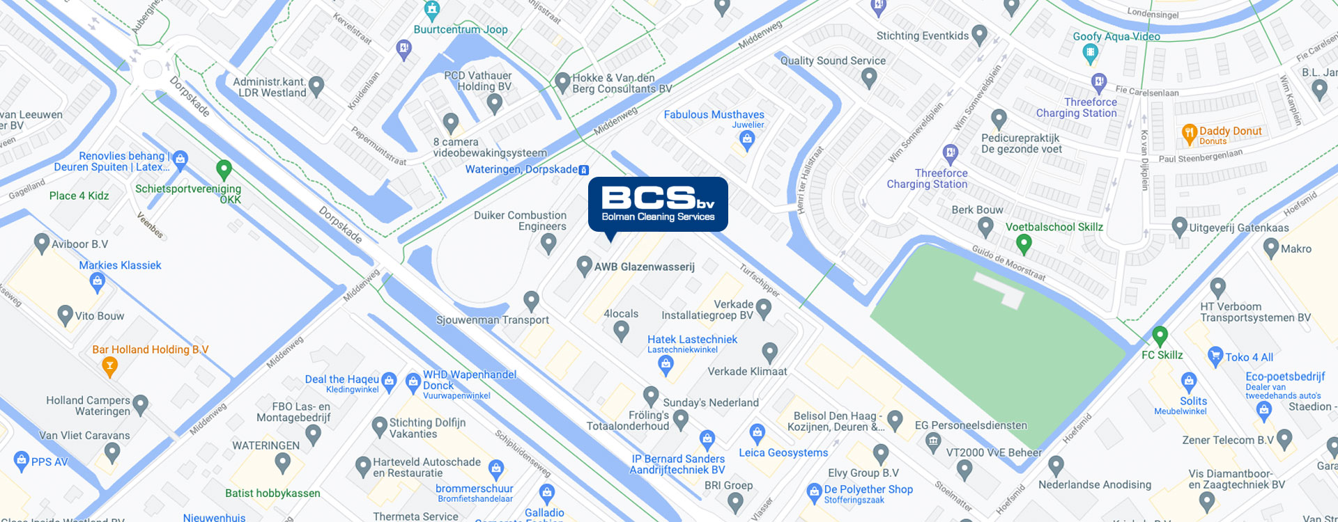 Bolmancleaning Google Maps
